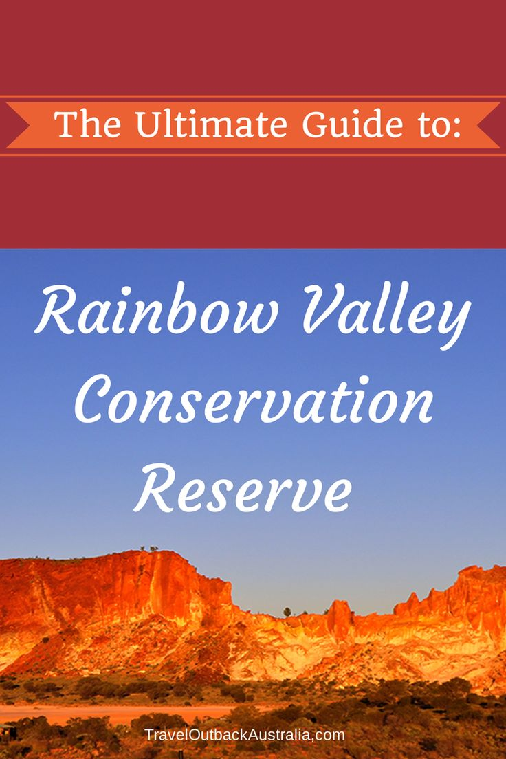Every visit to the Red Centre should include the spectacular Rainbow Valley Conservation Reserve. Our Ultimate Guide:  http://traveloutbackaustralia.com/rainbow-valley-ultimate-guide.html/