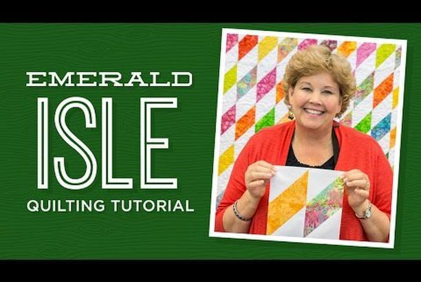 Make an Emerald Isle Quilt with Jenny!