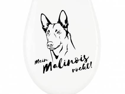 Belgischer Schäferhund - Malinois Fan KollektionKlodeckel WC Aufkleber: Belgischer Schäferhund