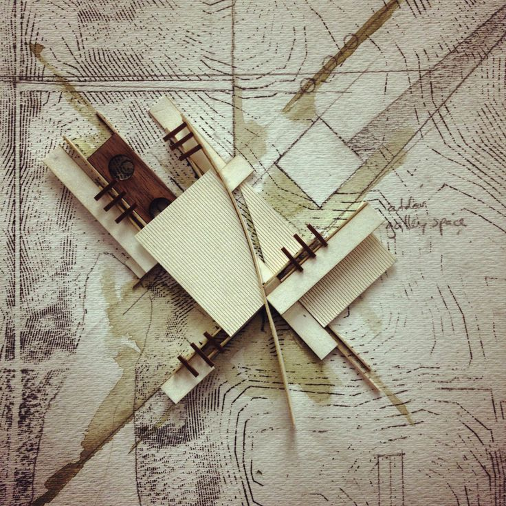 Stephanie Herring, USF School of Architecture, Class of 2012 Thesis - Spring 2012, Prof. Steve Cooke Parti Model