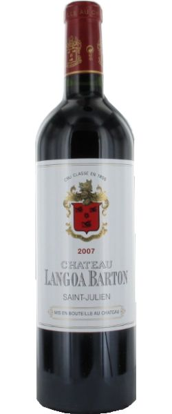 Château Langoa-Barton 2007 - Saint-Julien  - 17/20 : Très élégant et suave au premier abord, le vin ne manque pas de tenue...  En savoir plus : http://avis-vin.lefigaro.fr/vins-champagne/bordeaux/medoc/saint-julien/d20560-chateau-langoa-barton/v20702-chateau-langoa-barton/vin-rouge/2007#ixzz3Ci1sAiMk