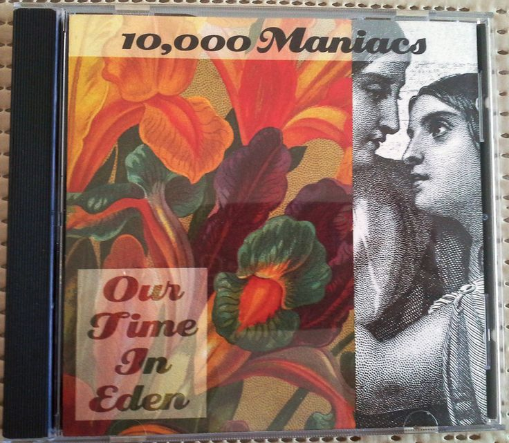 10000 MANIACS, OUR TIME IN EDEN, 1992 CD ALBUM, ELEKTRA, 15% OFF 2+ #AlternativeIndie