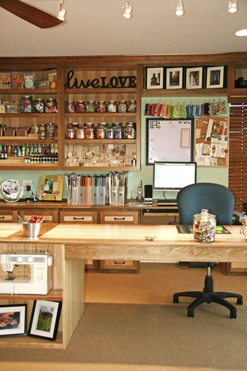 14 best scrapbook room ideas images on Pinterest | Scrapbook ...