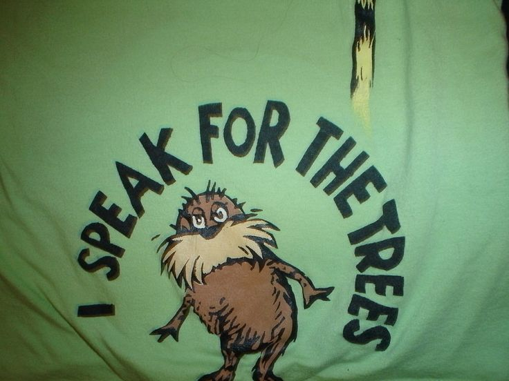 Stenciled T Shirt, Dr. Suess, The Lorax  •  Free tutorial with pictures on how to paint a t-shirt in under 60 minutes