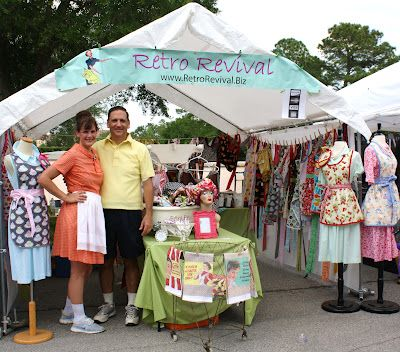 6 Super Tips for Wildly Successful Craft Fair Sales! Luv her 'shop display' too!