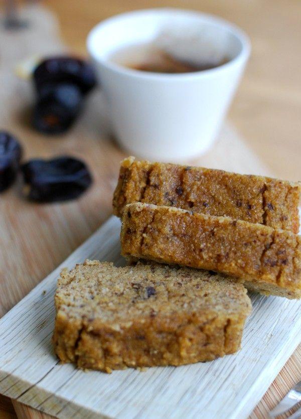 Healthy pumpkin cake (gluten free, no sugar added) - Hälsosam saftig pumpakaka (glutenfri, utan tillsatt socker)