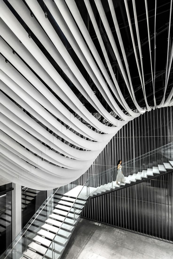Hongkou soho by kengo kuma 2016 best of year winner for commercial building lobby