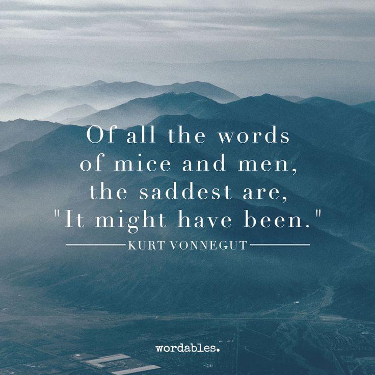 Kurt Vonnegut …