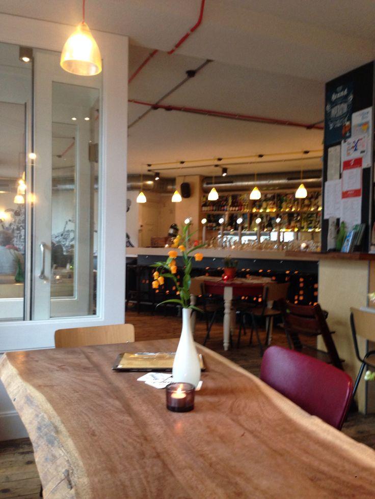 Pause im Cafe'