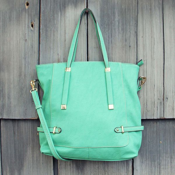 The Sea Spell Tote, Sweet Mint Bags & Totes from Spool 72. | Spool No.72