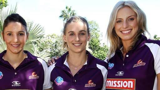 These three Queensland firebirds have gotten onto the Australian team