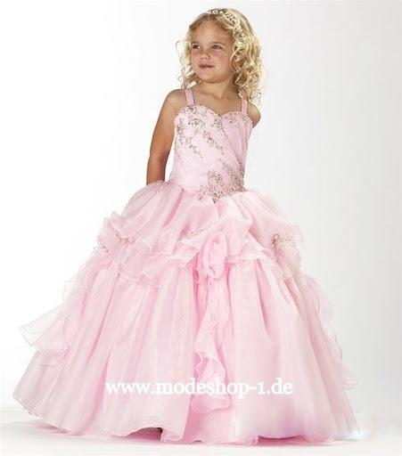 Kinder Mode Mädchen Kleid Gerbera  www.modeshop-1.de
