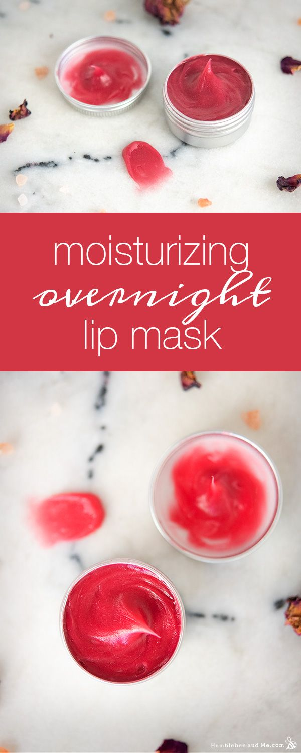 Moisturizing Overnight Lip Mask Humblebee Me Lip Mask Lip Sleeping Mask Diy Lip Mask