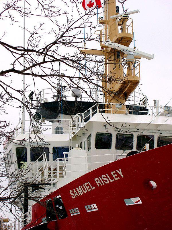 Canadian Coast Guard vessel Samuel Risley