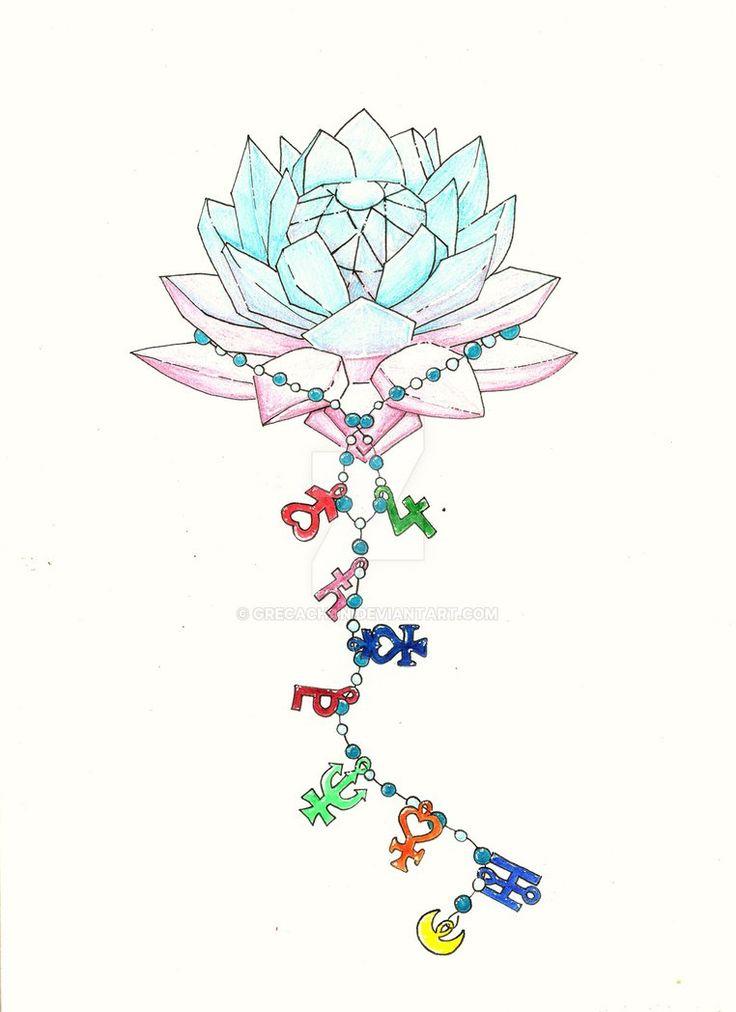 Sailor Moon Tattoo Vorlage by GreCaChan
