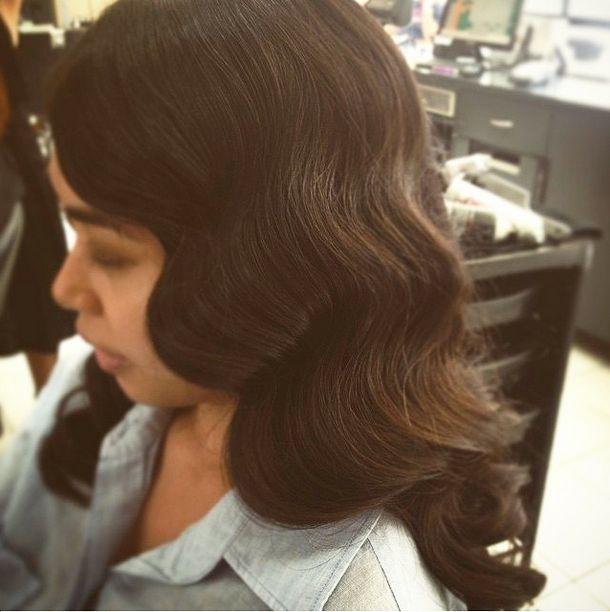Gorgeous Finger Waves! #HairbyPhd! #hairbyphdparramatta #fingerwaves #formal #weddinghair #formallooks #gatsbyhair #vintagehair #brunette #hairdresser #parramatta #carlingford #sydney #sydneybeauty #sydneyhair #hairstylist