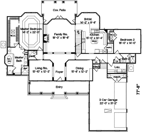 Country style house plans 4000 square foot home 2 story for 4000 square foot house plans
