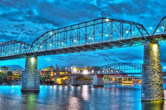 Chattanooga Walking Bridge Pics Inn Chattanooga