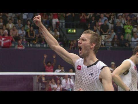 Korea v Denmark - Badminton Men's Doubles Semifinals   London 2012 Olympics.   Read the rest of this entry » http://badmintonracket.biz/korea-v-denmark-badminton-mens-doubles-semifinals-london-2012-olympics/ #2012, #2016, #Ace, #Athens, #Athletics, #Badminton, #Beijing, #Brazil, #China, #Denmark, #Field, #France, #Games, #Gold, #History, #IOC, #Jamaica, #Korea, #London, #London2012, #Medal, #MenSDoublesSemifinals, #Net, #Olympic, #OlympicStadium, #Olympics, #Rio, #Russia,