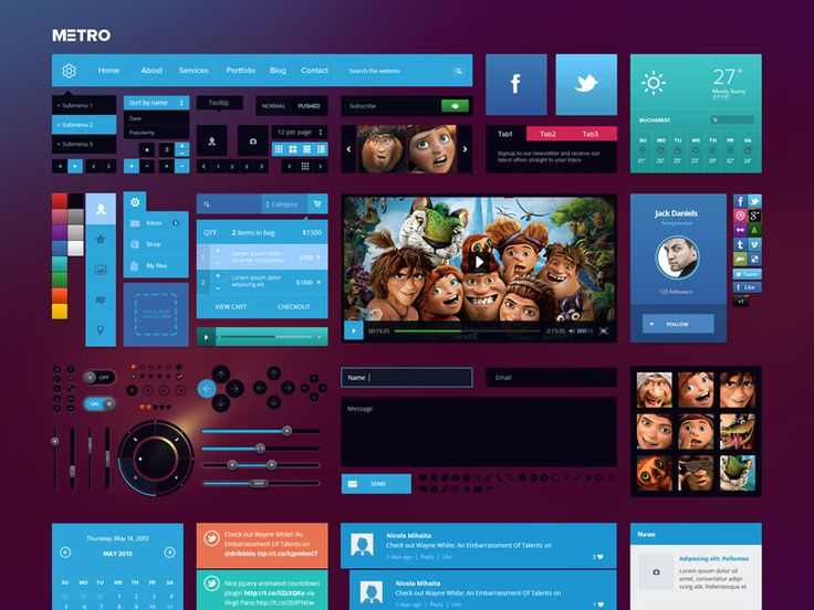 Beautiful Examples Of UI Kits http://www.thewebmosphere.com/5-beautiful-examples-ui-kits/