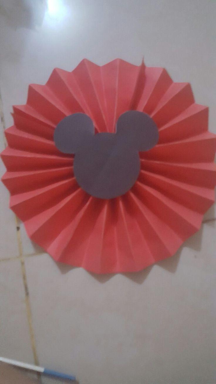 Rosetones de mickey