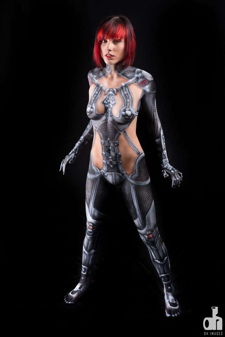 Body Painting Catwoman