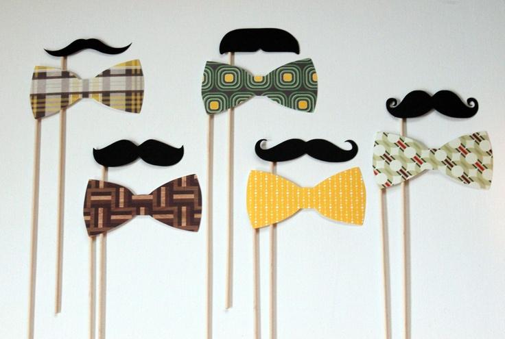 Love Moustashe. Para hacer las fiestas un poco más divertidas