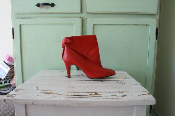 1980s vittoriano PUNK... stivali womens taglia 8... di retroandme