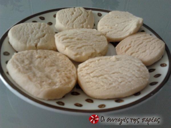 Μπισκότα Βουτύρου με 3 υλικά #sintagespareas