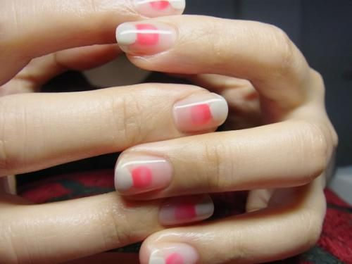 Japanese gel nails @jacintachiang