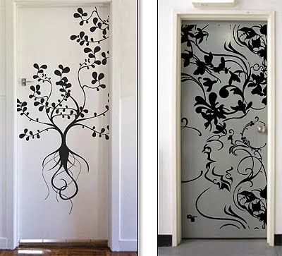 Wall Door Decals | Door Stickers