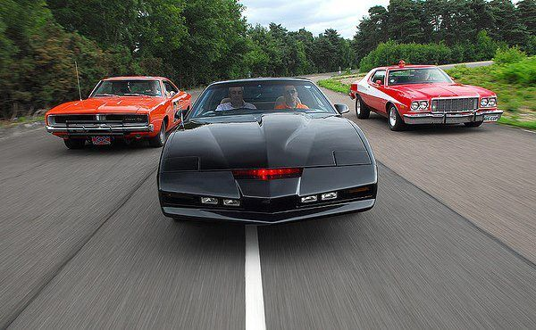 Famous TV Cars. Was not crazy about the year the Trans Am was KITT, but I would take any of them right now.
