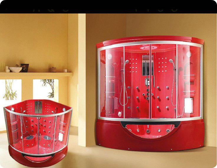 This one has 2 shower heads!