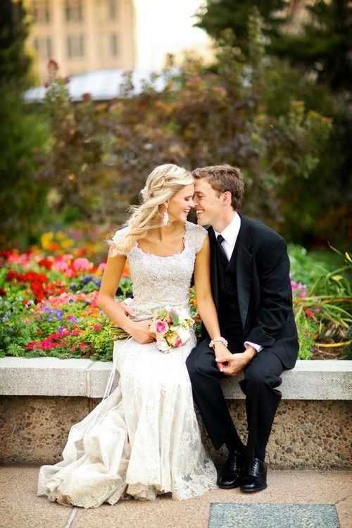 Cute bride and groom shot #brideandgroom #wedding http://www.roughluxejewelry.com/