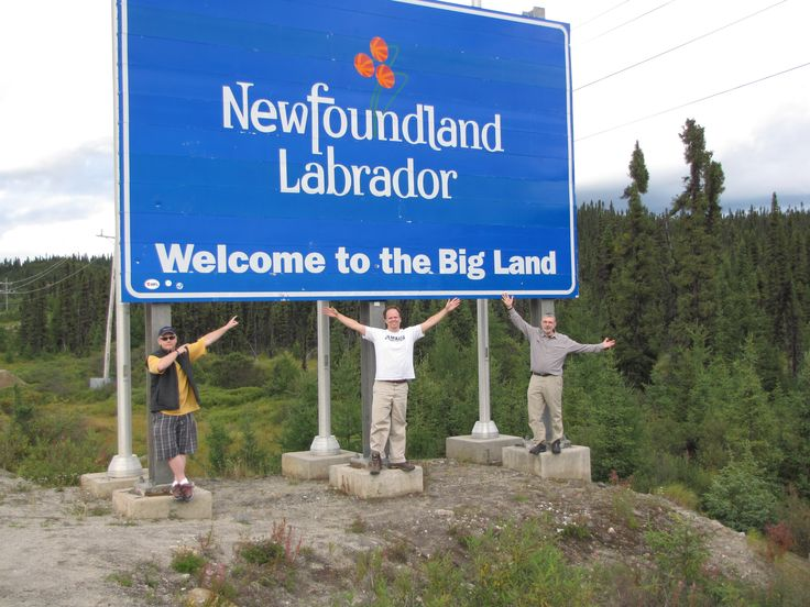 Welcome to Labrador on out way to the Moisie River.