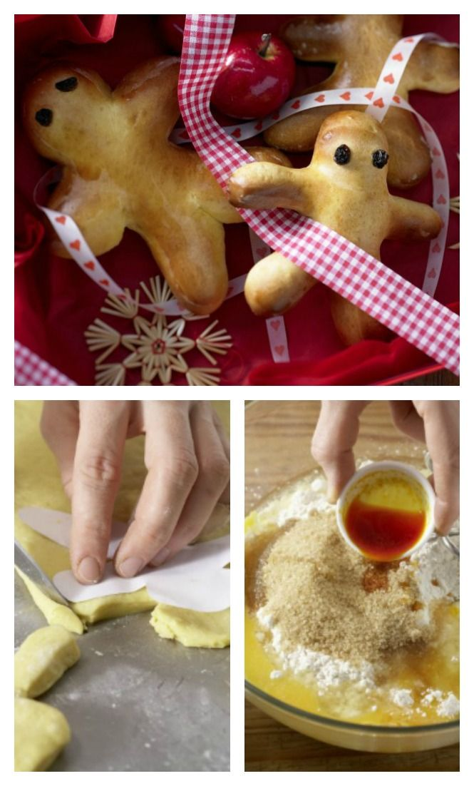 Süße Männchen mit Format – auch super zum Verschenken: Stutenkerle mit Safran | http://eatsmarter.de/rezepte/stutenkerle
