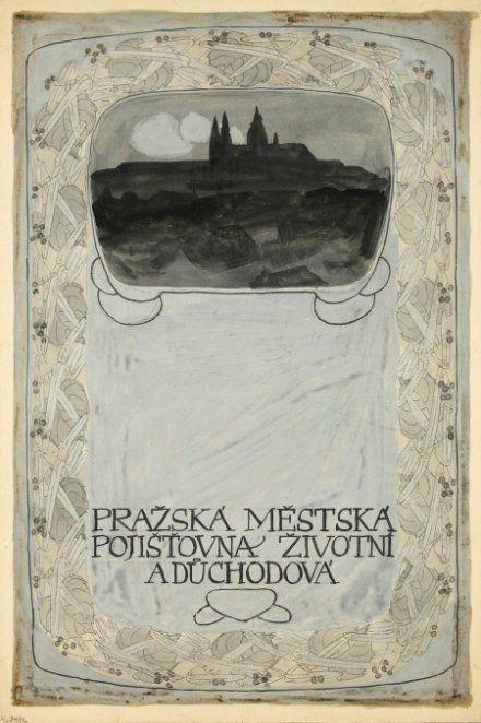 VojtěchPreissig, 1907 More Art Nouveau