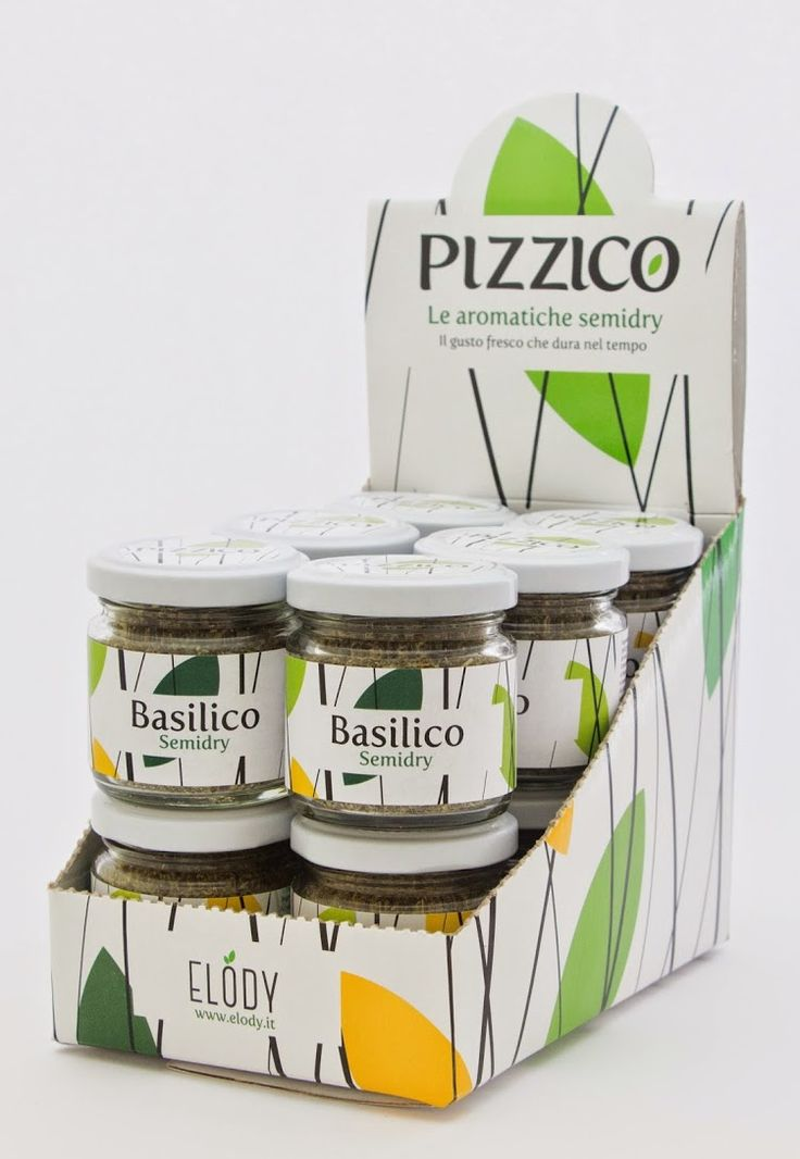 Espositore di #Basilico Pizzico Erbe Aromatiche Semidry. Il gusto #fresco che dura nel tempo   #Elody #erbearomatiche