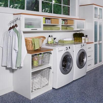 Best Laundry Room Images On Pinterest Basement Laundry Rooms
