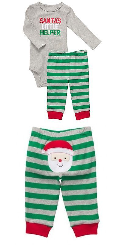 1af0c8bb8602 Outfits and Sets 163427  New Boys Girls Carter S Christmas Set ...