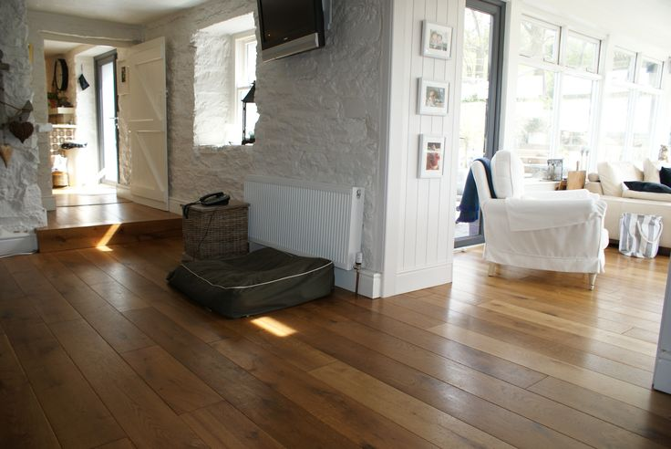 Project completed using Dolmen Oak engineered floor.