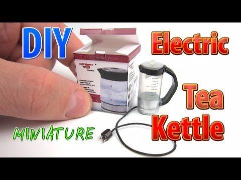 DIY Chaleira elétrica do chá com caixa ● Nenhuma argila do polímero! - YouTube