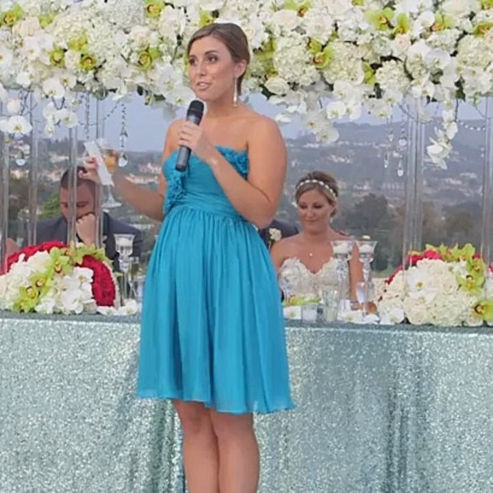 Maid Of Honor Loses Herself In Eminem-Inspired Wedding