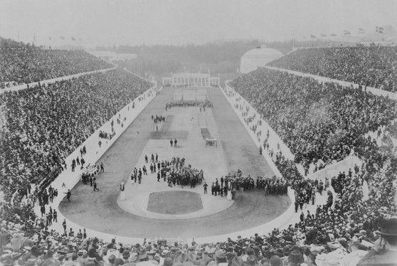 Panathinaikon Stadium Athens, 1st modern Olympic Games April6 ,1896 | MANCODE
