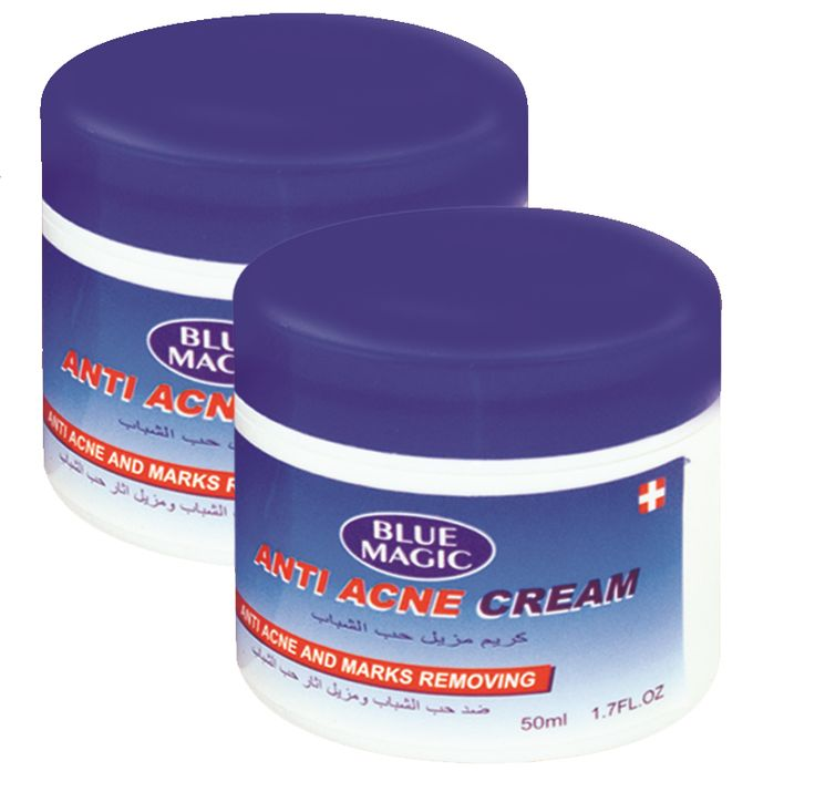 http://najafi.ae/face/facial-creams/anti-acne-blackhead-remover/blue-magic-anti-acne-cream.html  Blue magic #antiacne cream. For extreme #Acne problems