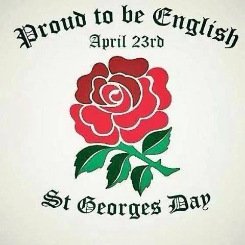 Happy St George's day 23 April