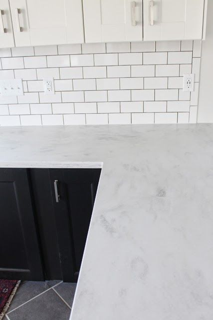 In my last couple of posts I showed a lot of our countertops and I realized I never did a follow-up post to the installation .  We've lived ...