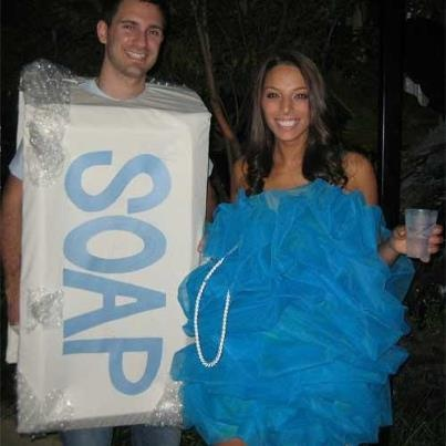 We just had to share this idea for fancy dress!!!! Made us smile :-)