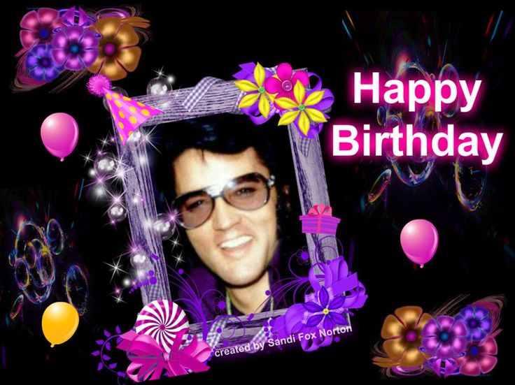Elvis Presley Virtual Birthday Cards | www.IHeartElvis.net