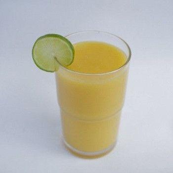 Мятно-ананасовое фраппе